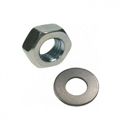Rawl Nuts & Washers M10 Inc Plated Pack Of 10