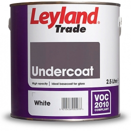 Leyland Undercoat 2.5l White Paint