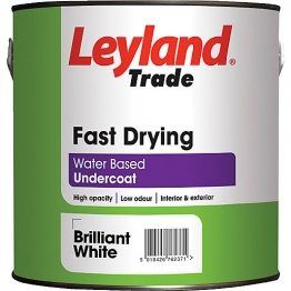 Leyland Fast Drying Water Undercoat 2.5l Brilliant White Paint