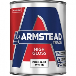 Glidden Trade High Gloss Pure Brilliant White 1l