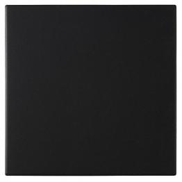 Dorset Dw-reblk1515 Woolliscroft Plain Black Porcelain Re Quarry Tiles 148mm X 148m X 9mm