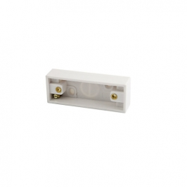 4 Trade Architrave Pattress Box 1 Gang