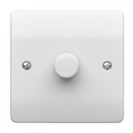 Mk Dimmer Switch 1 Gang 500w 2 Way K1501whilv