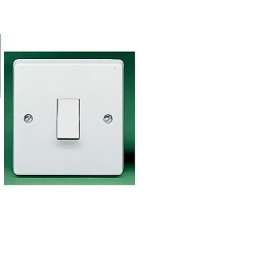 Crabtree 1 Gang 1 Way 10ax Sp Plate Switch 4070
