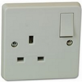Crabtree 1 Gang Dp 13a Switched Socket 4304/d