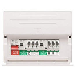 Mk Sentry K7664sp Consumer Unit Flexible Duel Rcd 14 Way