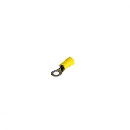 4 Trade Yellow Ring 5mm Crimp Pack Of 100