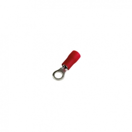 4 Trade Red Ring 4mm Crimp Pack Of 100