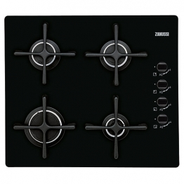 Zanussi Gas Hob On Glass 60cm Zgo63414ba