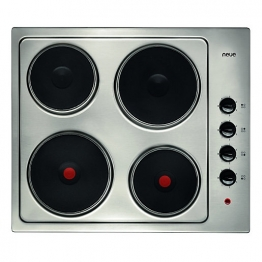 Neue 60 Cm 4 Ring Electric Hob Sealed Plate Stainless Steel - Ph601ss