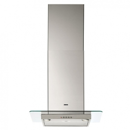 Zanussi 60cm Square Glass Chimney Hood