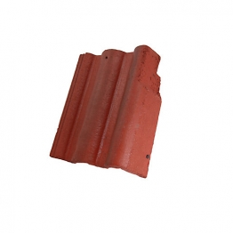 Redland Regent Right Hand Cloaked Verge Rustic Red Roofing Tile