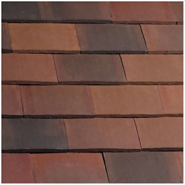 Marley Eternit Acme Smooth Brindle Double Camber Roofing Tile And Half