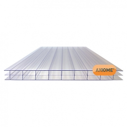 Axiome Clear 16mm Polycarbonate Sheet 1250mm X 5000mm