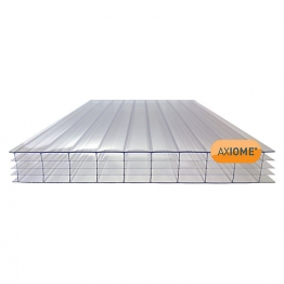 Axiome Clear 25mm Polycarbonate Sheet 840mm X 3500mm