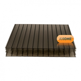 Axiome Bronze 25mm Polycarbonate Sheet 840mm X 4000mm