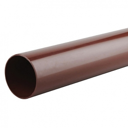 Osma Roundline 0t082 Pipe 68mm Brown 2m