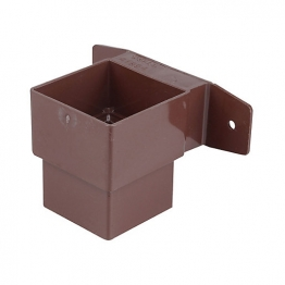 Osma Squareline 4t824 Pipe Connector And Bracket Stand Off 61mm Brown