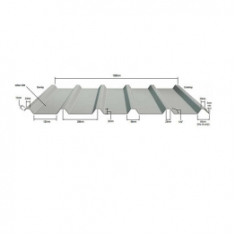 Mw5r Rooflight To Timber Fixing (poppy Red)