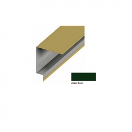 Barge Boards For Profiled Metal Sheets 195mm X 195mm In Bs12b29 Juniper Green