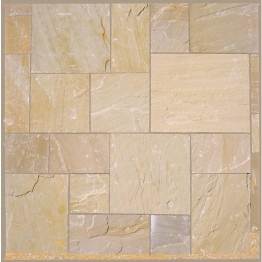 Marshalls Fairstone Riven Golden Sand 5 Multi Project Pack 15.23 M2 Ns3409010