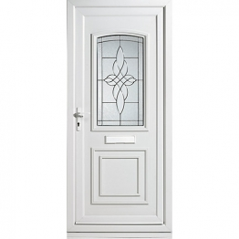 Medway Pre-hung Upvc Door 2085mm X 920mm Right Hand