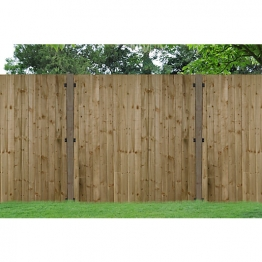 Pressure Treated Feather Edge Fence Panel 1200mm X 900mm