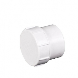 Osma Pvc-c 40mm Solvent Weld Waste Access Plug 5m292 White