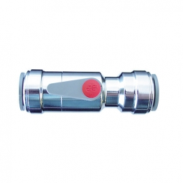 Jg Speedfit Service Valve With Handle 10mm Chrome Plated