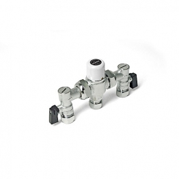 Intamix Mx15mm Cp Tmv3 Complete With Isolating Ball Valve