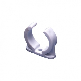 Osma Solvent Weld Overflow 1e082w 21.5mm Plain Ended Pipe Clip