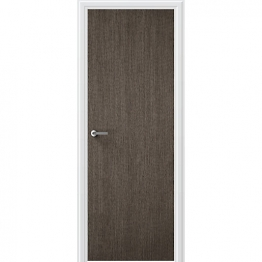 Flush Portfolio Charcoal Grey Vertical Internal Door 1981mm X 686mm X 35mm