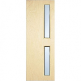 Internal Flush Pwd Paint Grade Fd30 Fire Door 16g Glazed Georgian 2040mm X 926mm X 44mm