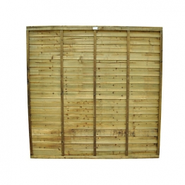 Super Lap Pressure Treated Fence Panel 1828mm X 915mm