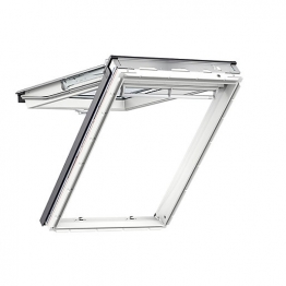 Velux Top Hung Roof Window 660mm X 1180mm White Painted Gpl Fk06 2066