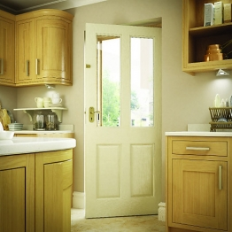 Malton Hardwood Veneer External Door 1981 X 838 X 44mm