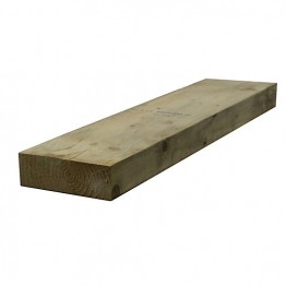 Sawn Timber Regularised Treated C16/c24 75mm X 200mm X 5.4m