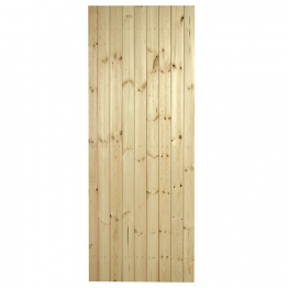 External Pine Ledged & Braced Door 1981mm X 686mm
