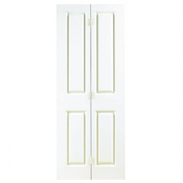 Moulded 4 Panel Grained Bi-fold Door 1981mm X 762mm X 35mm