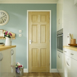 Softwood Colonial 6 Panel Clear Pine Internal Door 1981mm X 838mm X 35mm
