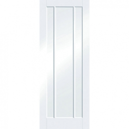 Moulded Worcester White Clear Glazed Internal Door 1981mm X 762mm X 35mm