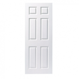 Moulded 6 Panel Smooth Fd30 Internal Fire Door 1981mm X 686mm X 44mm