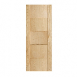 Internal 5 Groove Oak Fire Door Fd30 1981mm X 838mm X 44mm
