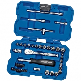 "1/4"" Sq. Dr. Mm/af Combined Socket Set (40 Piece)"