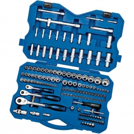 "1/4, 3/8, 1/2"" Sq. Dr. Metric Socket And Socket Bit Set (149 Piece)"