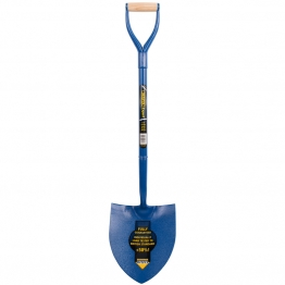 Contractors Solid Forged Round Mouth Shovel