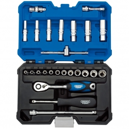 "1/4"" Sq. Dr. Metric Socket Set (25 Piece)"