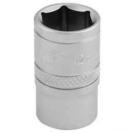 "3/8"" Square Drive 6 Point Metric Socket (12mm)"