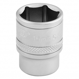 "3/8"" Square Drive 6 Point Metric Socket (16mm)"