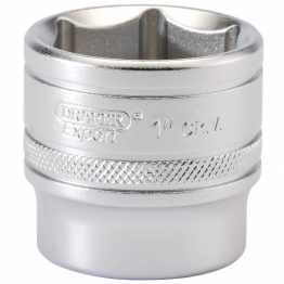 "3/8"" Square Drive 6 Point Imperial Socket (1"")"